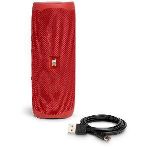 オーディオ, ポータブルスピーカー JBL Bluetooth JBLFLIP5RED