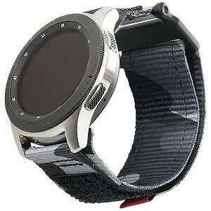 UAG UAG社製 Galaxy Watchバンド GalaxyWatch 46mm用 ACTIVEシリーズ(ミッドナイトカモ) UAG−RGWLA−MC