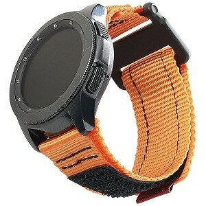 UAG UAG社製 Galaxy Watchバンド GalaxyWatch 42mm用 ACTIVEシリーズ(オレンジ) UAG−RGWSA−OR