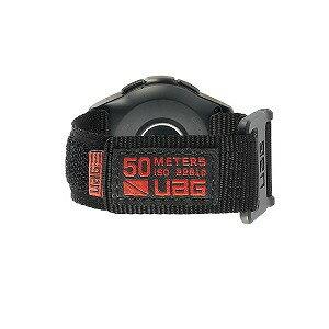 UAG UAG社製 Galaxy Watchバンド GalaxyWatch 42mm用 ACTIVEシリーズ(ブラック) UAG−RGWSA−BK