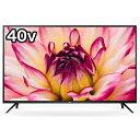 TCL 40V型フルハイビジョン液晶テレビ [YouTube対応] 40S515(標準設置無料)