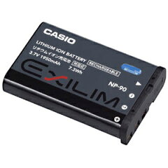 CASIO EXILIM対応 リチウムイオン充電池 NP−90