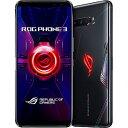 ASUS エイスース SIMフリースマートフォン ASUS ROG Phone 3 ZS661KS−BK512R12 ブラックグレア