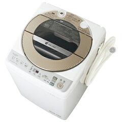 お届けから標準セッティング(設置作業)まで無料で承ります。シャープ 全自動洗濯機(9.0kg)...