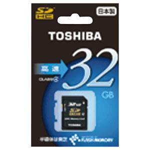 日本全国送料無料!更に代引き手数料無料!東芝 SDHCメモリカード(高速タイプ) SDE032G4【送...