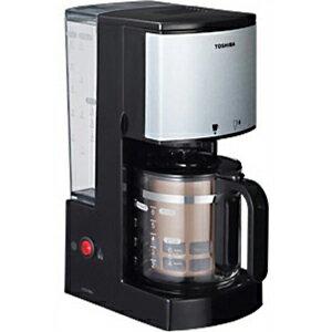 東芝 コーヒーメーカー HCD‐6MJ(K)(ブラック)
