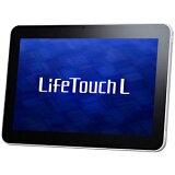 【ポイント2倍】NEC 10.1型ワイドタブレットPC「Life Touch L」 LT−TLX5W1A <シャイニングパールホワイト>【送料無料】