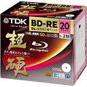 日本全国送料無料!更に代引き手数料無料!TDK 録画用BD−RE DL(1−2倍速/50GB)20枚パック ...