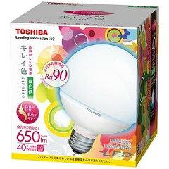 東芝 LED電球高演色タイプ(40W形相当・昼白色)「キレイ色‐kireiro‐」 LDG10N−D/G95