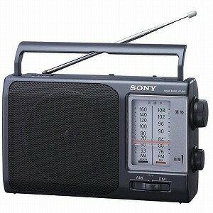 ソニー FM/AMポータブルラジオ ICF−801【送料無料】