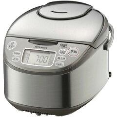 日本全国送料無料!更に代引き手数料無料!三菱 IH炊飯器(5.5合炊き) NJ−KH10−S <シルバ...