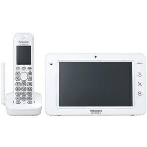 【ポイント2倍】Panasonic 電話機 ホームスマートフォン(カラーモニター子機1台、コードレス子機1台) VS−HSP200S−W <ホワイト>【送料無料】