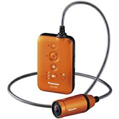 日本全国送料無料!更に代引き手数料無料!Panasonic ウェアラブルカメラ「A100」 HX−A100(D...