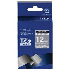 ブラザー ピータッチ用おしゃれテープ(12mm) TZe-MQL35 <ライトグレー(つや消し…