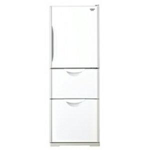 日立 3ドア冷蔵庫(265L・右開き) R−27DS−W <クリアホワイト>【標準設置無料】