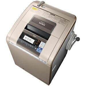 日立 タテ型洗濯乾燥機(10kg)「ビートウォッシュ」 BW−D10SV(N)<シャンパン>【標準設置無料】
