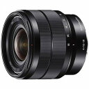 ソニー デジタル一眼カメラα「Eマウント」用レンズ(E10−18mmF4OSS) SEL1018