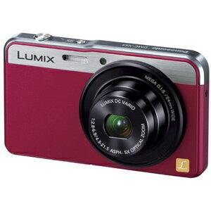 Panasonic デジタルカメラ「LUMIX」 DMC−XS3−R <レッド>【送料無料】