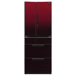 標準セッティング(設置作業)無料&安心の長期保証書無料進呈!シャープ 6ドア冷蔵庫(501L・...