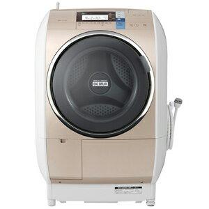 お届けから標準セッティング(設置作業)まで無料で承ります。日立 ドラム式洗濯乾燥機(10kg・...