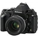 ニコン デジタル一眼レフカメラ「Df」 50mm f/1.8G Special Edition キット DFLK(BK)(ブラック)
