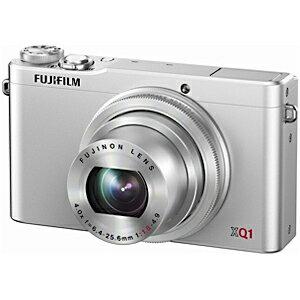富士フィルム デジタルカメラ「X Series」 FUJIFILM XQ1S <シルバー>【送料無料】