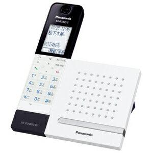 Panasonic デジタルコードレス留守番電話機「RU・RU・RU」(子機1台) VE−GDW03DL−W<ホワ...