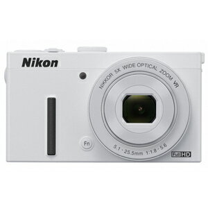 ニコン コンパクトデジタルカメラ COOLPIX P340 <ホワイト>【送料無料】