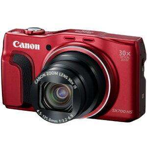 Canon デジタルカメラ「PowerShot」 PowerShot SX700 HS(RE)<レッド>【送料無料】
