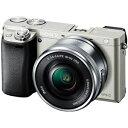 ソニー SONY ミラーレス一眼カメラ「α6000」パワーズームレンズキット ILCE−6000L/S (シルバー)
