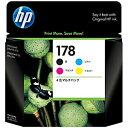 日本全国送料無料!更に代引き手数料無料!HP HP178 4色マルチパック CR281AA(HP178セット4シ...