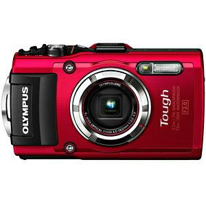 オリンパス コンパクトデジタルカメラ「STYLUS(Tough)」 TG−3 RED <レッド>【送料無料】