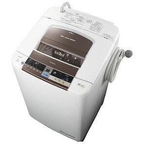 日立 全自動洗濯機(10kg)「ビートウォッシュ」 BW−10TV(T)<ダークブラウン>【標準設置無...