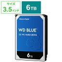 WESTERN DIGITAL 「バルク品・保証無」 内蔵HDD [3.5インチ/6TB] WD60EZAZRT