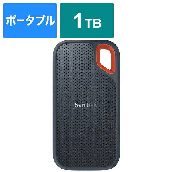 サンディスク外付けSSDExtreme[ポータブル型/1TB]SDSSDE60-1T00-J25