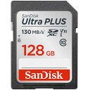 サンディスク SanDisk ウルトラ プラス SDXC UHS−I 128GB SDSDUW3-128G-JNJIN