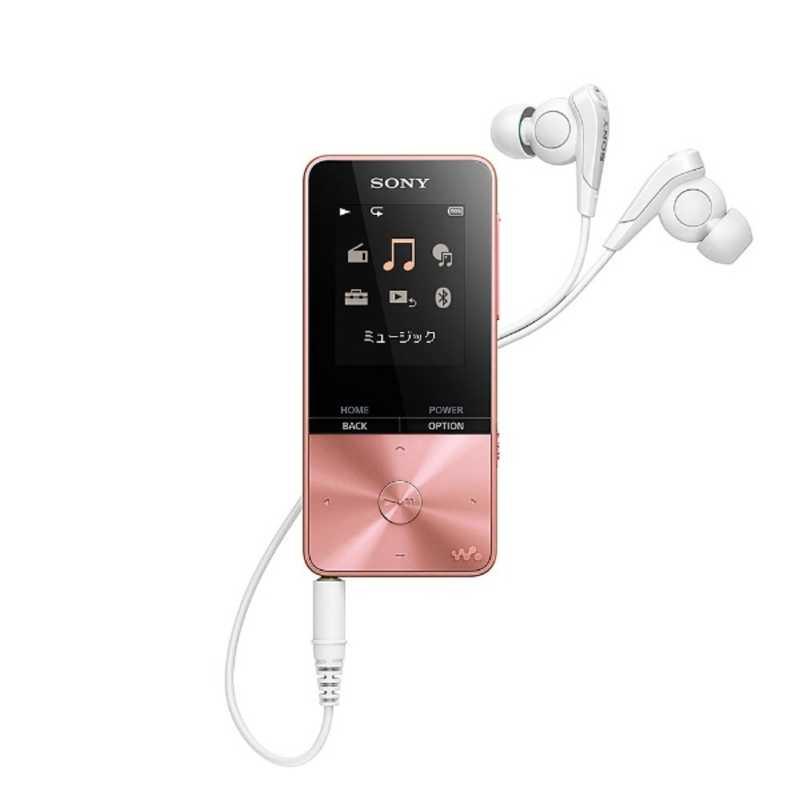 ポータブルオーディオプレーヤー, デジタルオーディオプレーヤー  SONY WALKMAN S310 4GB NW-S313 PIC FM
