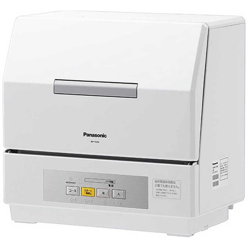 食器洗い乾燥機, 据置型食器洗い乾燥機  Panasonic 318 NP-TCR4-W ()