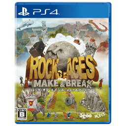 3GOO PS4ゲームソフト ロック・オブ・エイジス:メイク&ブレイク PLJM-16672