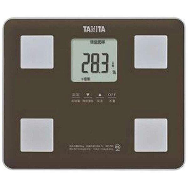 タニタ体組成計BC‐760BR(ブラウン)
