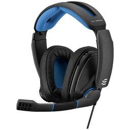 EPOS ゲーミングヘッドセット EPOS/sennheiser GSP−300 ブラックブルー[φ3.5mmミニプラグ/両耳] 1000238