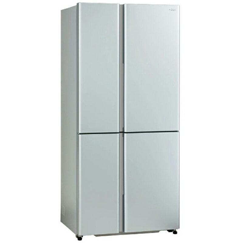 アクア AQUA 4ドア冷蔵庫 TZシリーズ [フレンチドア/512L] AQR-TZ51K-S サテンシルバー(標準設置無料)