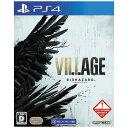 カプコン CAPCOM PS4ゲームソフト BIOHAZARD VILLAGE バイオハザードヴィレッジ PLJM-16805