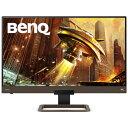 BENQ ゲーミングモニター メタリックグレー x ブラウン [27型/ワイド/WQHD(2560×1440)] EX2780Q