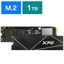 ADATA  内蔵SSD PCI-Express接続 GAMMIX S70 BLADE XPG ブラック [M.2 /1TB] AGAMMIXS70B-1T-CS・・・
