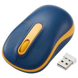 エレコム ELECOM 無線マウス/光学式/Mサイズ/抗菌/ネイビー M-DY11DRSKNV