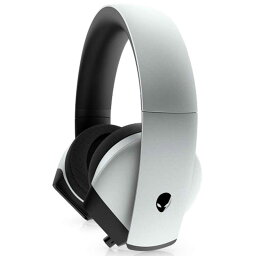 DELL デル ゲーミングヘッドセット ALIENWARE7.1 [φ3.5mmミニプラグ/両耳/ヘッドバンドタイプ] AW510H-Lルナライト