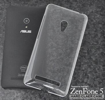 メール便送料無料アウトレット販売【ASUS ZenFone 5 A500KL(2014年)用ハードクリアケース】シンプルで使いやすい透明カバー デコやシールなどでアレンジ素材としても最適 (アスース エイスース ゼンフォンファイブ B品 訳あり商品)