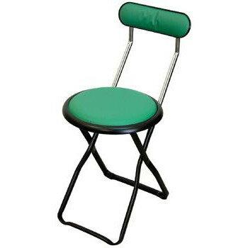 パイプ椅子 折りたたみ 会議椅子 チェア イス いす スツール オフィスチェア 事務椅子 椅子 パソコンチェア デスクチェア pc グリ-ン/ブラック
