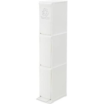 ゴミ箱 ごみ箱 ダストボックス キッチン リビング おしゃれ カフェ スリム 20L 分別 ホワイト 白 30リットル ペダル 30l 30 ふた付き 蓋 つき 蓋付き 縦型